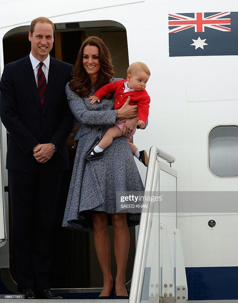 AUSTRALIA-BRITAIN-ROYALS-NZEALAND : News Photo