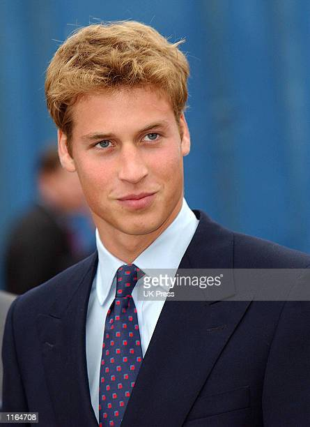 Britain's Prince William visits Anchor Mills September 9 2001 in Paisley west of Glasgow Scotland Prince William will start at St Andrews University...