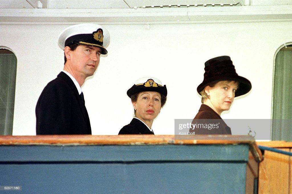 Anne [RF: England RF];Sophie Rhys-Jones;Anne [RF: England RF];Timothy Laurence [& Wife] : News Photo