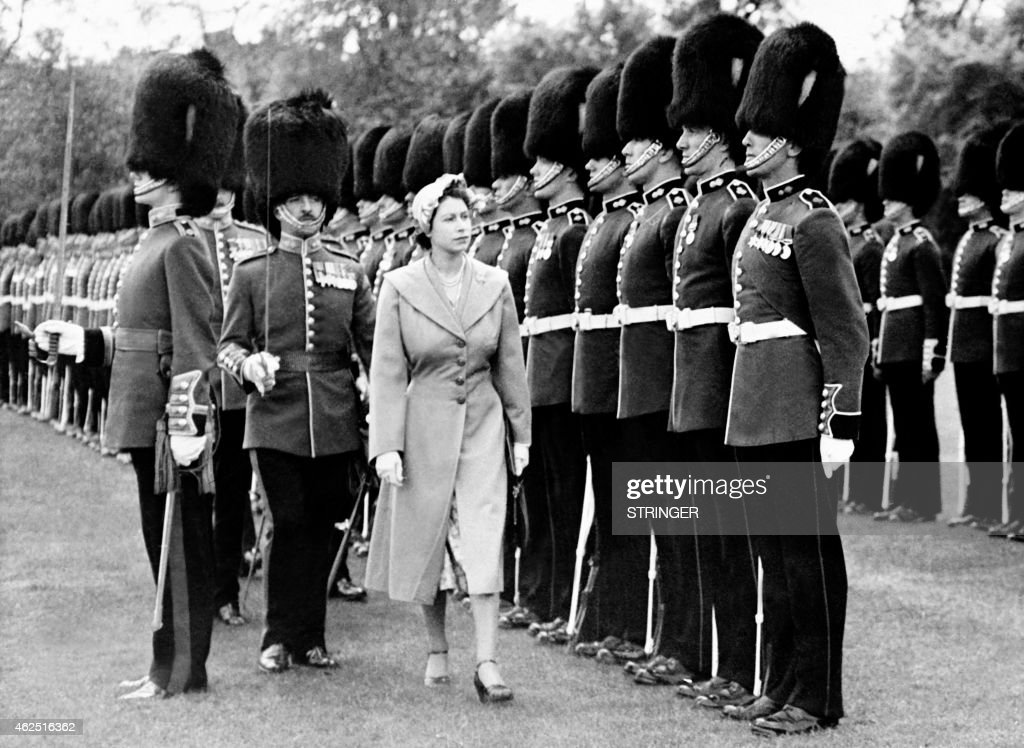 BRITAIN-ELIZABETH II : News Photo