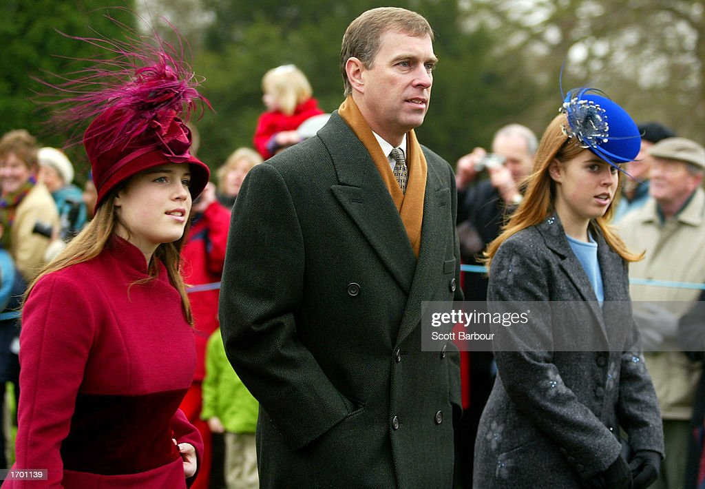 British Royal Family Attends Christmas Day Service In UK : News Photo