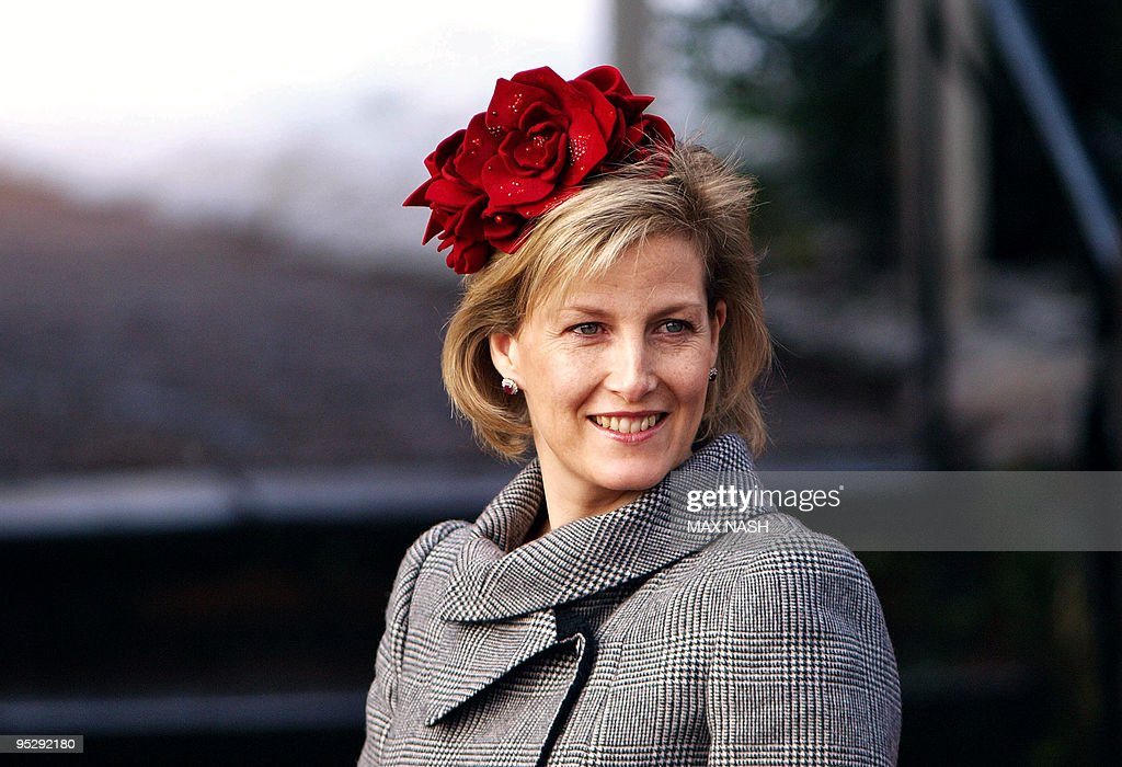 Britain's Princess Sophie, wife of Princ : News Photo