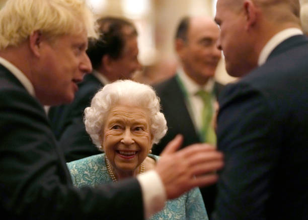 GBR: The Queen Hosts Reception To Mark The Global Investment Summit