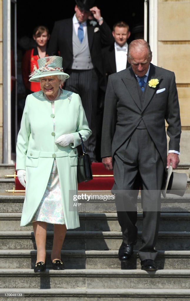 BRITAIN-ROYALS-PRINCE PHILIP : News Photo