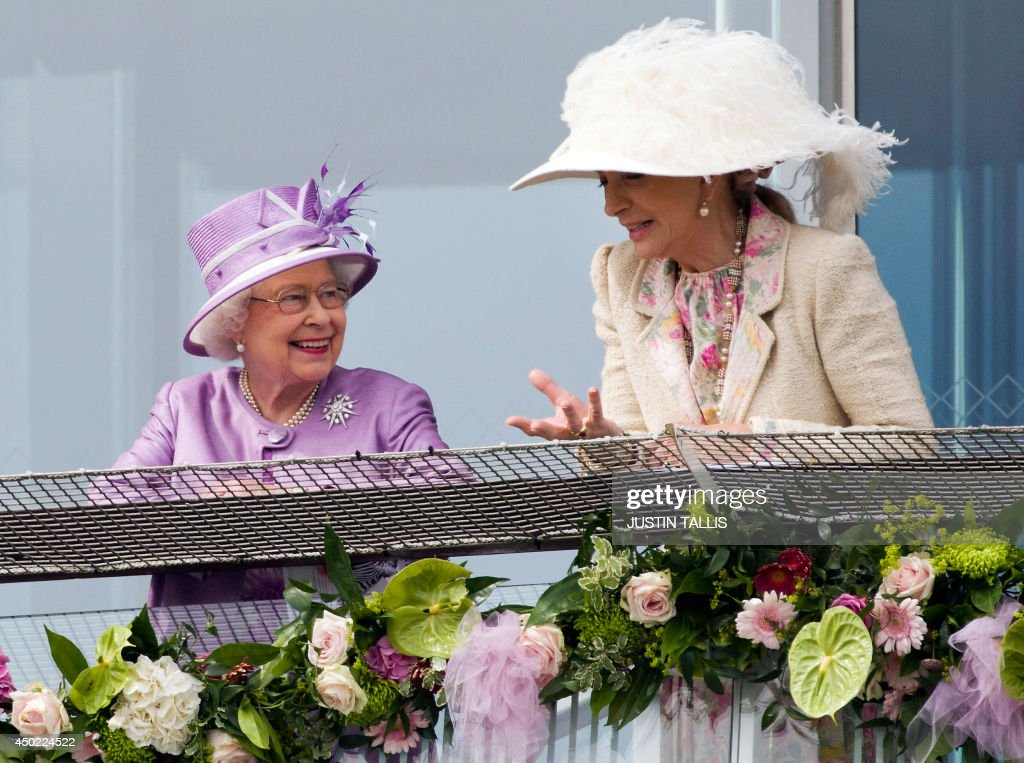 RACING-ENG-EPSOM-DERBY-ROYALS : News Photo