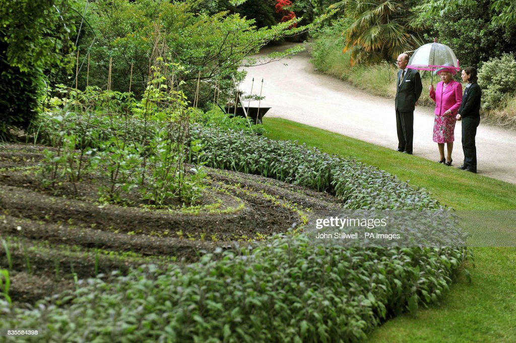 Buckingham Palace vegetable garden Pictures | Getty Images
