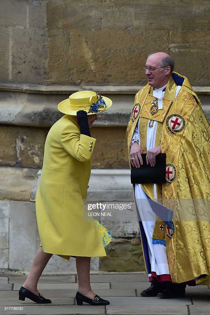 BRITAIN-ROYALS-EASTER : News Photo