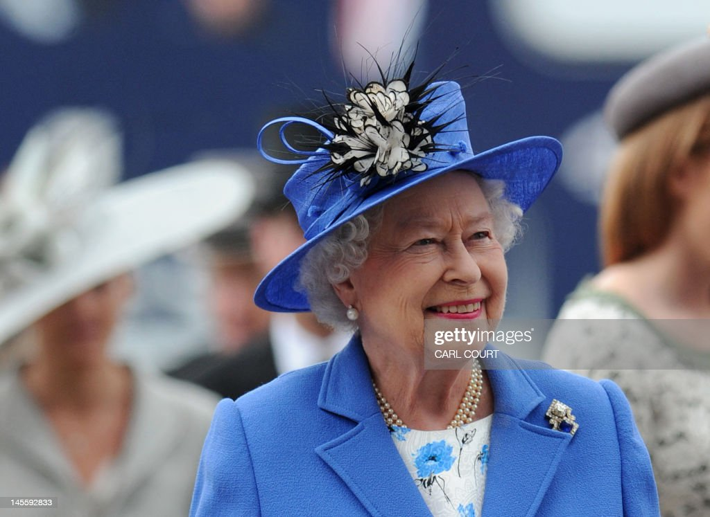 BRITAIN-ROYALS-JUBILEE-RACING-ENG-DERBY : News Photo