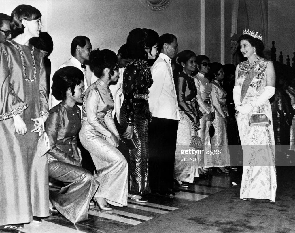 THAILAND-ELIZABETH II-VISIT : News Photo