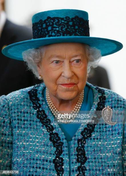 Britain's Queen Elizabeth II attends the official reopening of Canada House the official home to the Canadian High Commission in the United Kingdom...