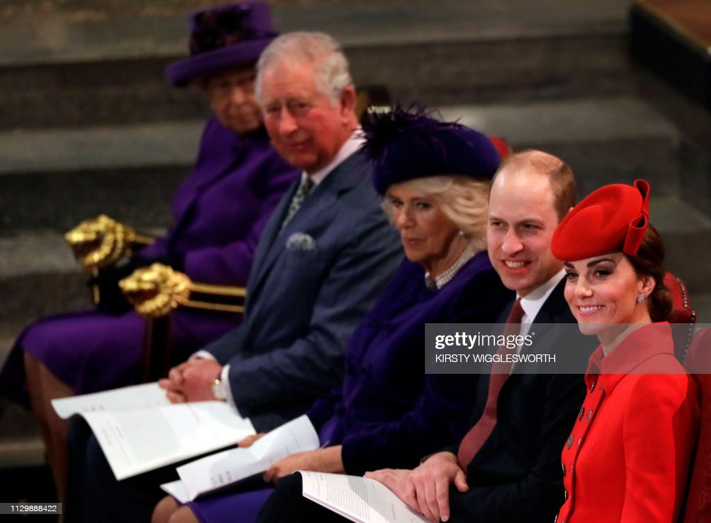 BRITAIN-ROYALS-COMMONWEALTH : News Photo
