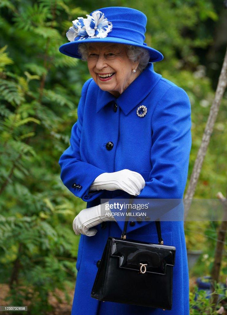 BRITAIN-SCOTLAND-ROYALS : Nyhetsfoto