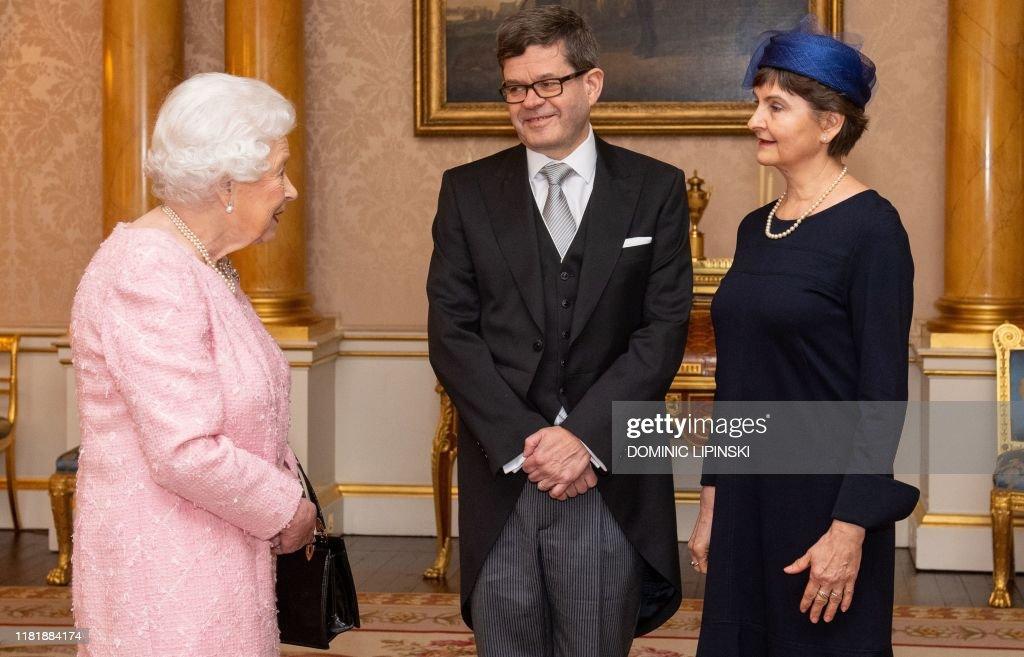 BRITAIN-FINLAND-ROYAL-DIPLOMACY : News Photo