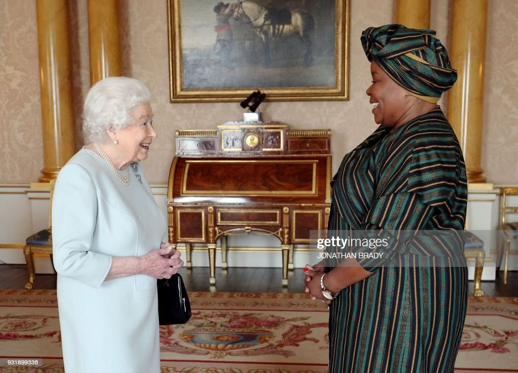 BRITAIN-SOUTH AFRICA-ROYALS : News Photo