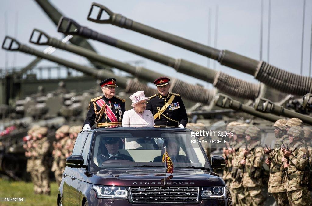 BRITAIN-ROYAL-MILITARY : News Photo