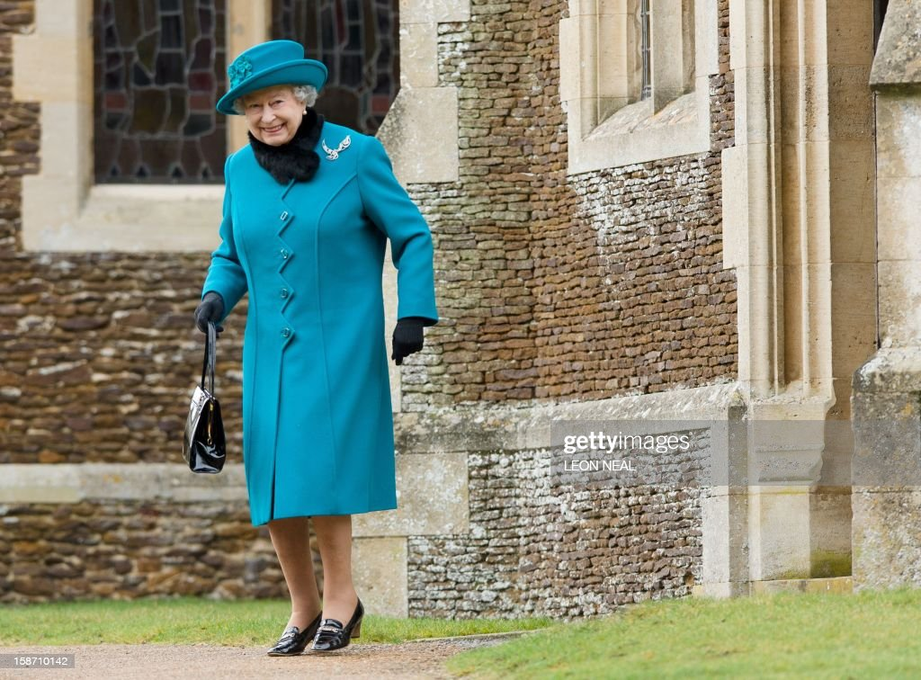 BRITAIN-ROYALS-CHRISTMAS : News Photo