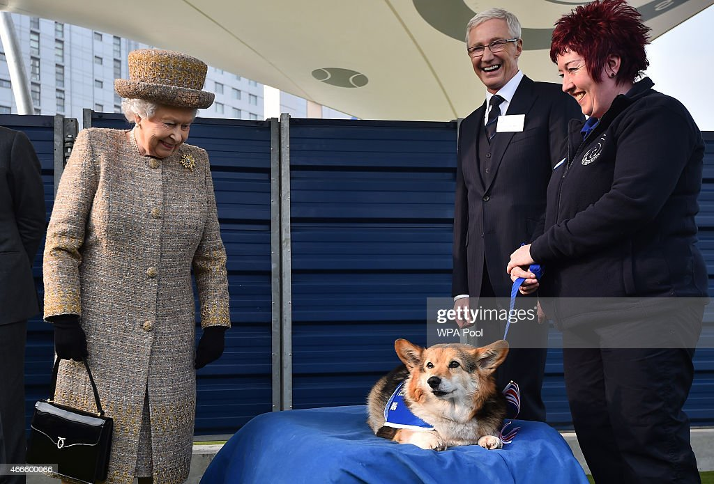 The Queen And Duke Of Edinburgh Visit Battersea Dogs And Cats Home : News Photo