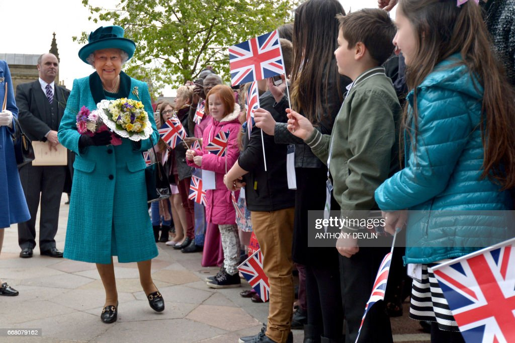 BRITAIN-ROYALS-MAUNDY-SERVICE : News Photo
