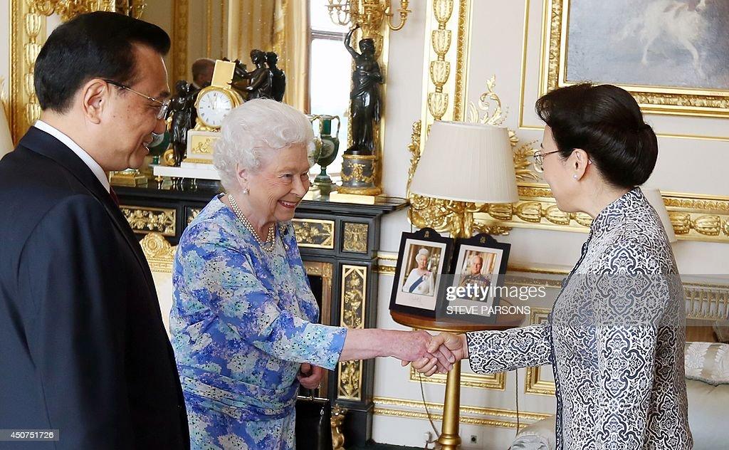 BRITAIN-CHINA-ROYALS-DIPLOMACY : News Photo