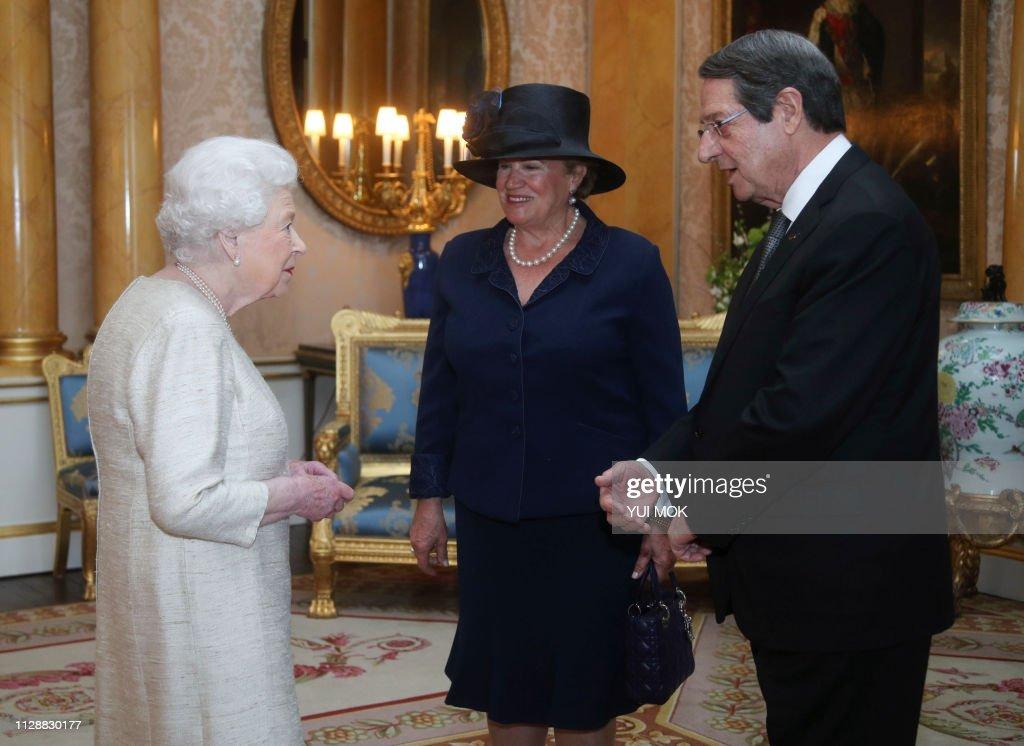BRITAIN-CYPRUS-ROYALS-DIPLOMACY : News Photo
