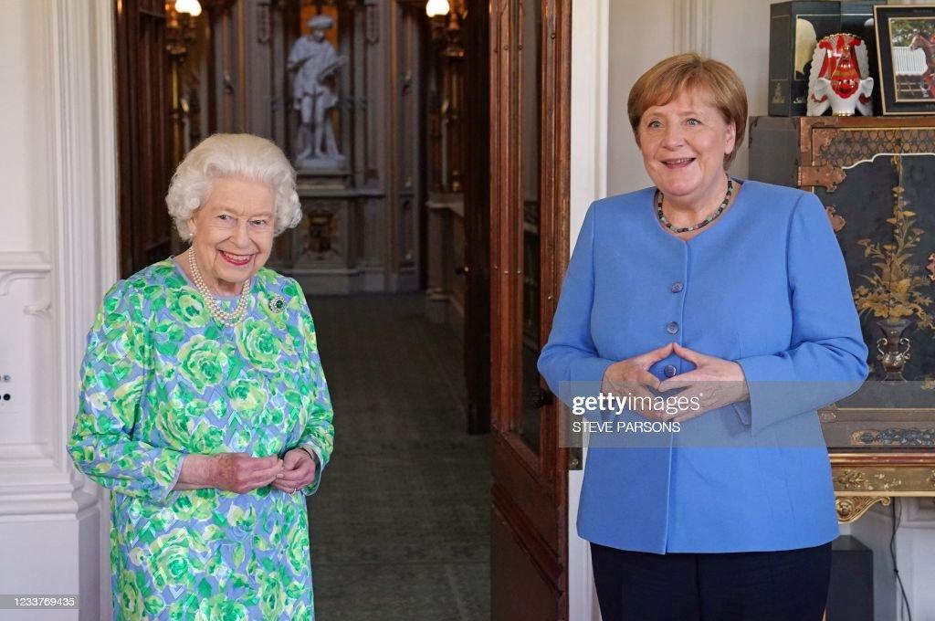 BRITAIN-GERMANY-ROYALS-DIPLOMACY : News Photo