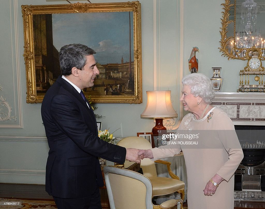 BRITAIN-BULGARIA-ROYAL-DIPLOMACY : News Photo