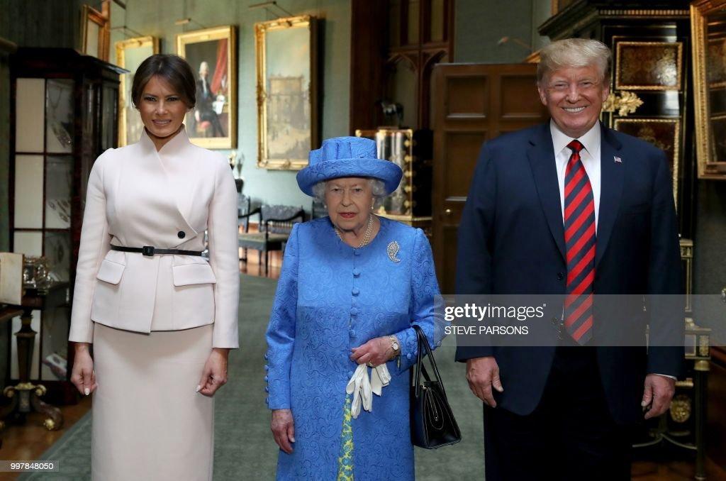 BRITAIN-US-DIPLOMACY-TRUMP : News Photo