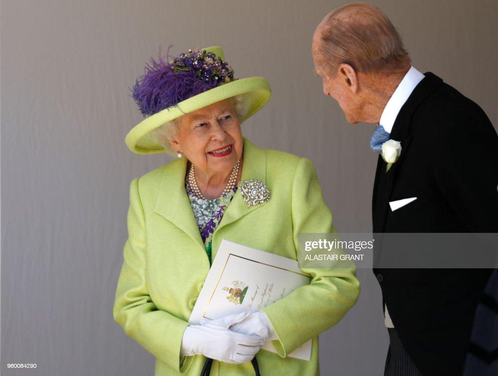 BRITAIN-US-ROYALS-WEDDING-GUESTS : Foto di attualità