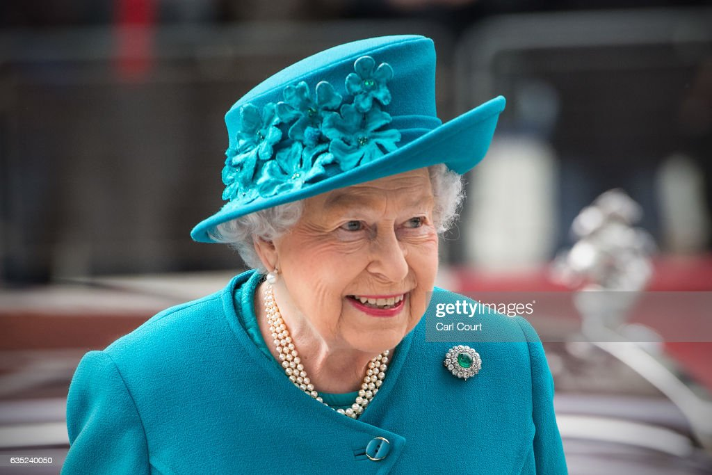 The Queen & Duke Of Edinburgh Open The National Cyber Security Centre : News Photo