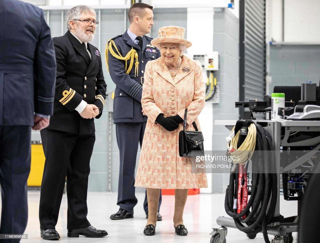 BRITAIN-DEFENCE-ROYALS : Nieuwsfoto's