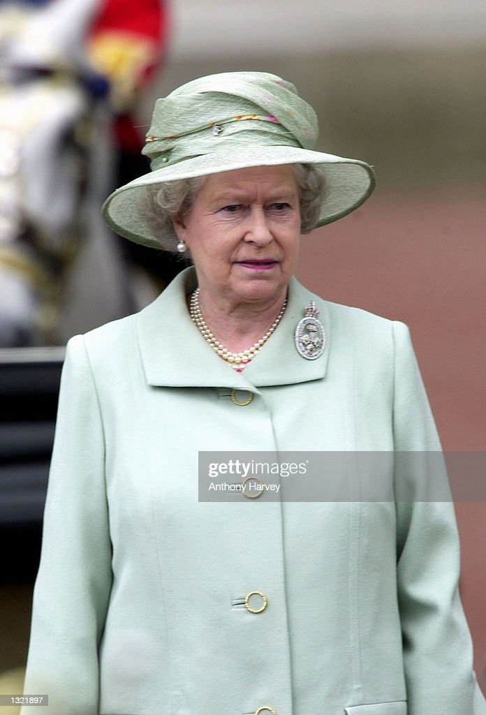 Queen Of England''s Birthday Observed : News Photo