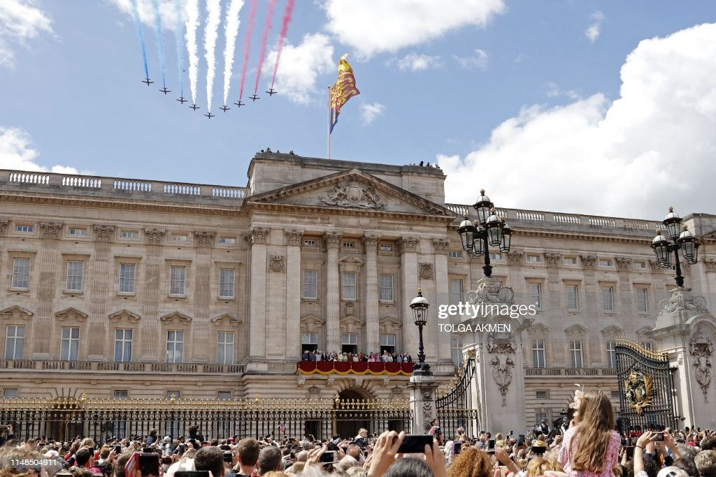 BRITAIN-ROYAL-TROOPING : News Photo