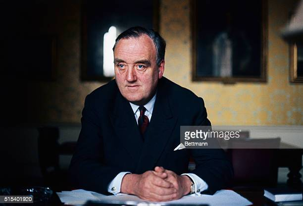 Britain's Ulster man...William Whitelaw, the new British Secretary of State for Ulster, is pictured March 24th. The British Parliament formally...