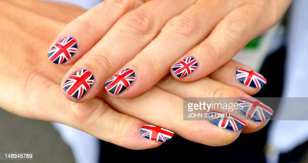 British Flag Nails Stock Photos And Pictures Getty Images