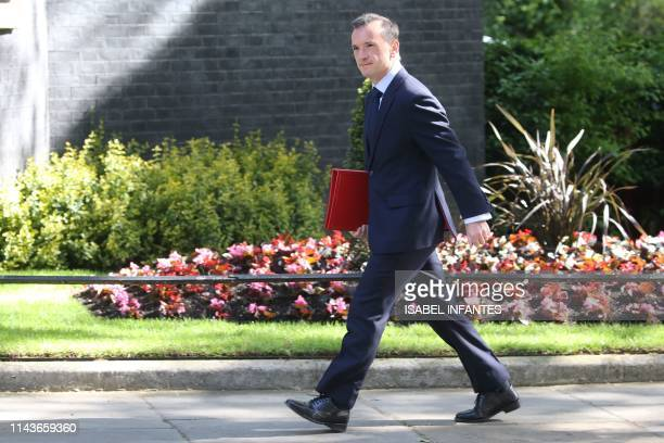 Britain's Wales Secretary Alun Cairns arrives to attend the weekly meeting of the Cabinet at 10 Downing Street in central London on May 14 2019