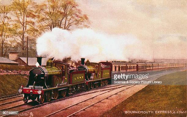 'Britannia' British Railways standard class 7 4 62 traffic locomotive no 70000 1951