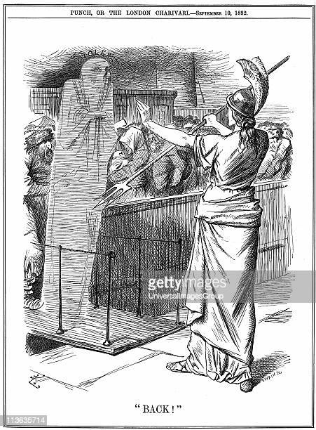 Britannia holding back Cholera at British ports In the outbreak of 1892 about 260000 died in Russia and 7600 in Hamburg The epidemic was prevented in...
