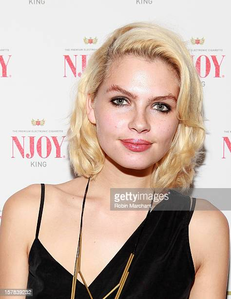 Britany Nola Attends The Njoy King Electric Cigarette Launch Event At The Jane Hotel On December