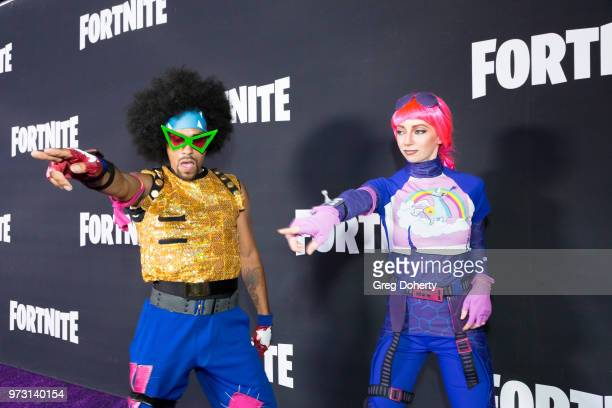 Brite Bomber attend the Epic Games Hosts Fortnite Party Royale on June 12 2018 in Los Angeles California