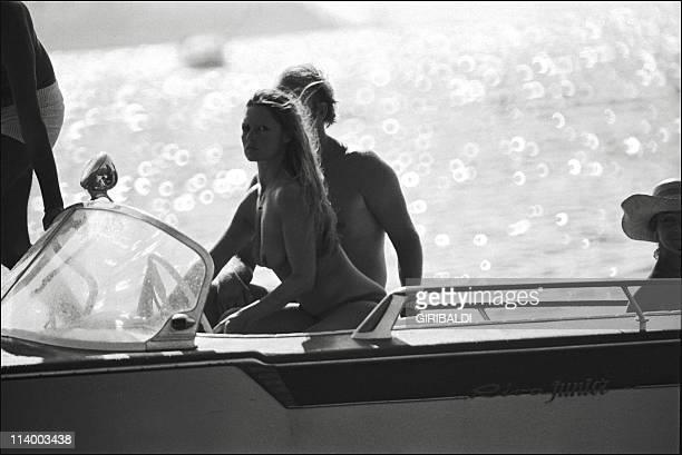 Britgite Bardot In Saint Tropez France On July 15 1974