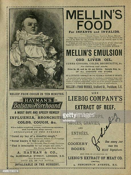 British 19th century advertisements
