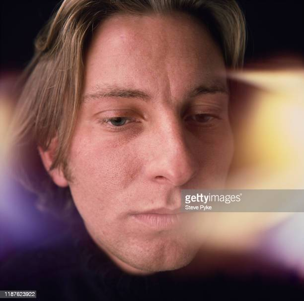 British abstract painter Jason Martin London 16th September 1994