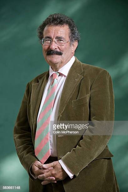 British academic scientist and broadcaster Lord Robert Winston pictured at the Edinburgh International Book Festival where he talked about issues...