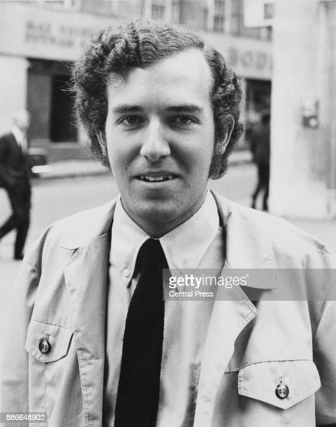 British activist and President of the Young Liberals Peter Hain during his court appearance in London for disrupting several sporting events with...