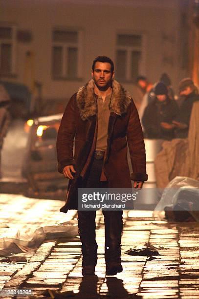 British actor Adrian Paul as Immortal warrior Duncan MacLeod in the film 'Highlander The Source' 2007