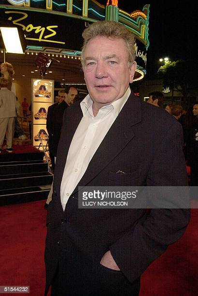 British actor Albert Finney arrives to the premiere of his new film Erin Brockovich in Los Angeles CA 14 March 2000 The film also stars Julia Roberts...
