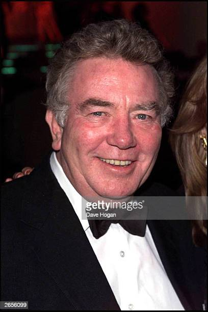 British actor Albert Finney attends the BAFTA awards held at the Odeon Cinema Leicester Square on February 25 2001 in London