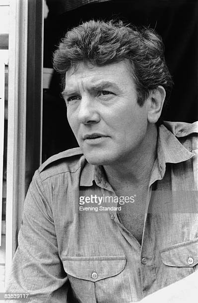 British actor Albert Finney during the filming of 'Loophole' 16th July 1980