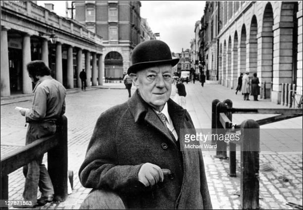 British actor Alec Guinness Covent Garden