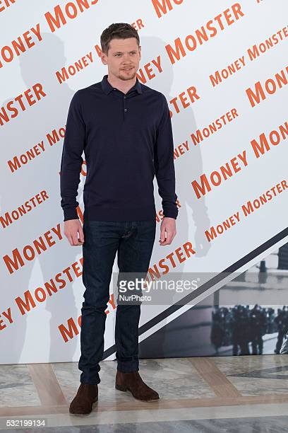 British actor and cast member Jack O'Connell pose during the photocall of the film 'Money Monster' in Madrid Spain 18 May 2016